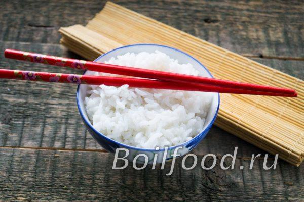 как варить круглый рис