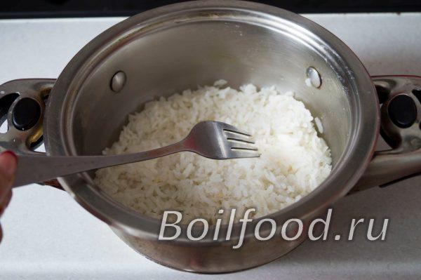 причесать рис