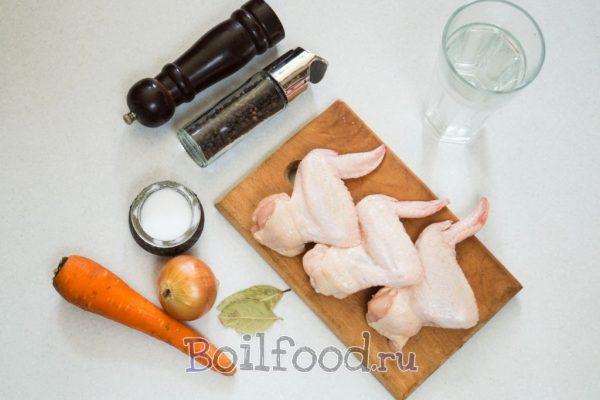 куриные крылья продукты