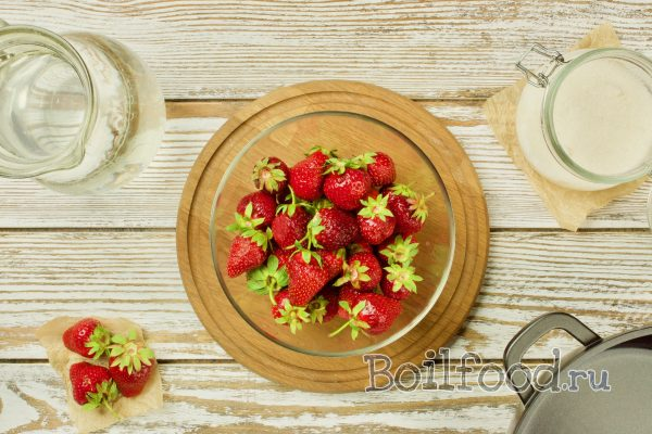 ингредиенты для клубничного компота