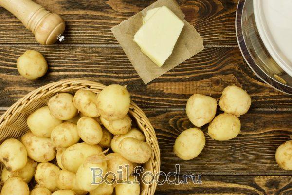 как варить молодую картошку а мультиварке