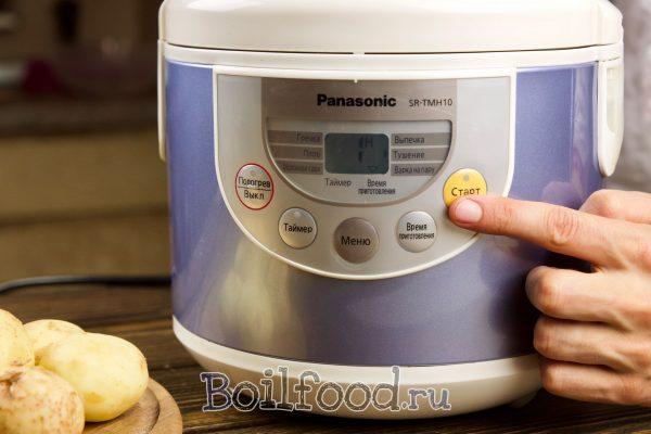 как варить молодую картошку в мультиварке