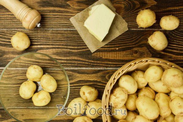 как варить молодой картофель в микроволновке