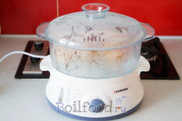 как варить картошку в пароварке