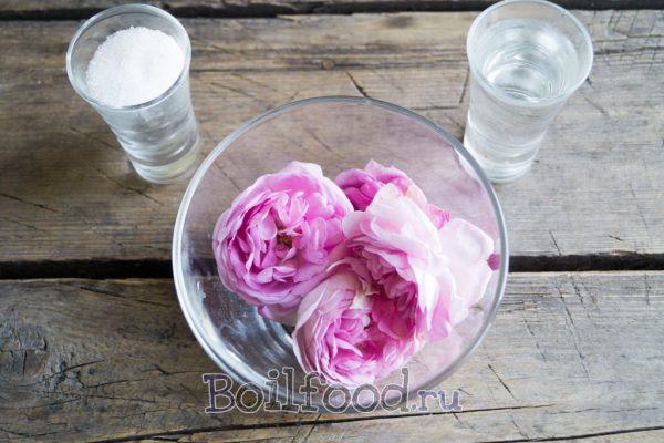 продукты на варенье из розы