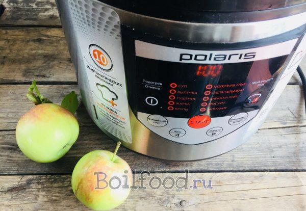 как сварить компот из яблок в мультиварке